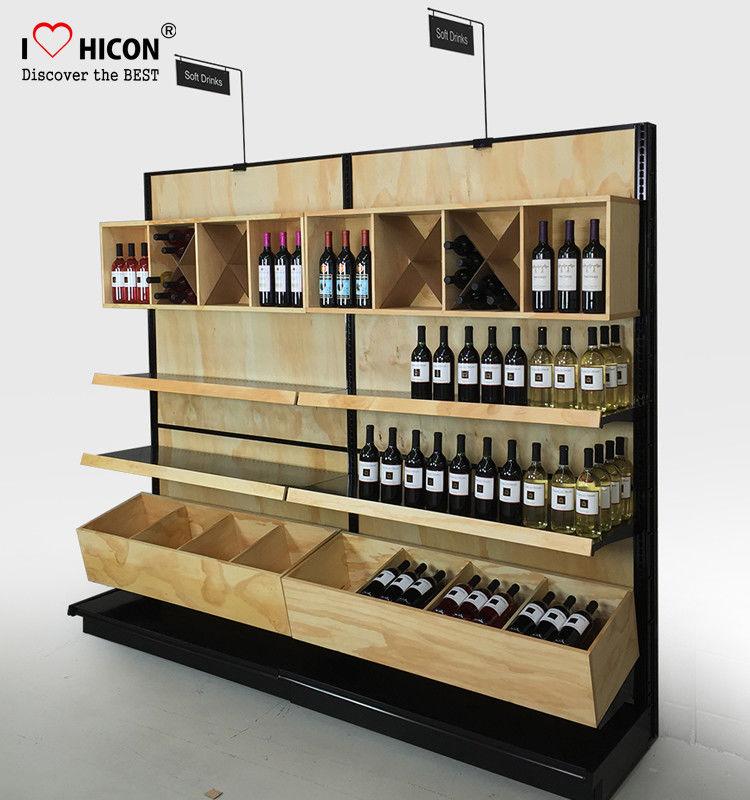 Estantes de exhibici n del vino y estanter a comerciales - Estanterias de vino ...